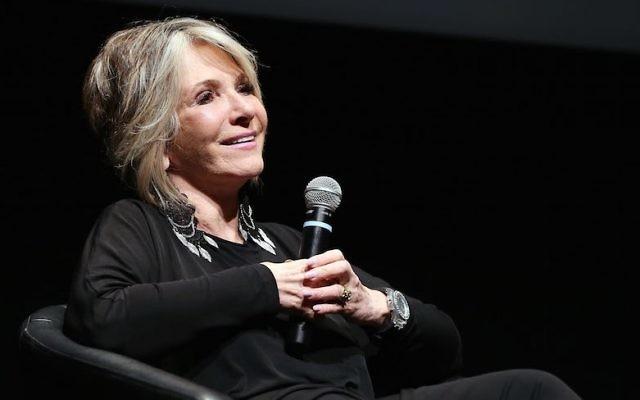 Sheila Nevins, pendant le Festival international du film de Toronto, le 10 septembre 2012. (Crédit : Terry Rice/Getty Images)