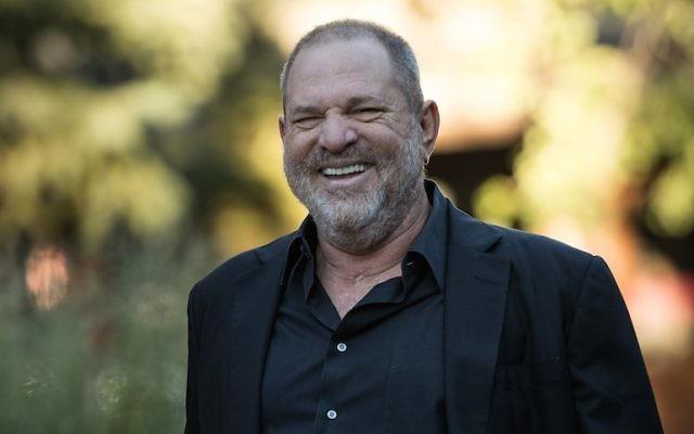Harvey Weinstein à Sun Valley, dans l'Idaho, le 12 juillet 2017. (Crédit : Drew Angerer/Getty Images)