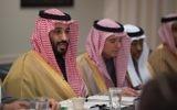 Mohammed ben Salmane Al Saoud, prince héritier de la couronne d'Arabie saoudite, le 16 mars 2017. (Crédit : Pentagone/domaine public/WikiCommons)