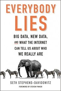 'Everybody Lies,' écrit par Seth Stephens-Davidowicz. (Autorisation)
