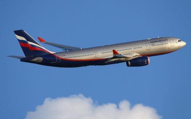 Un Airbus A330-200 d'Aeroflot au départ de l'aéroport Sheremetyevo de Moscou, en juin 2011. Illustration. (Crédit : CC BY-SA/Wikimedia commons)