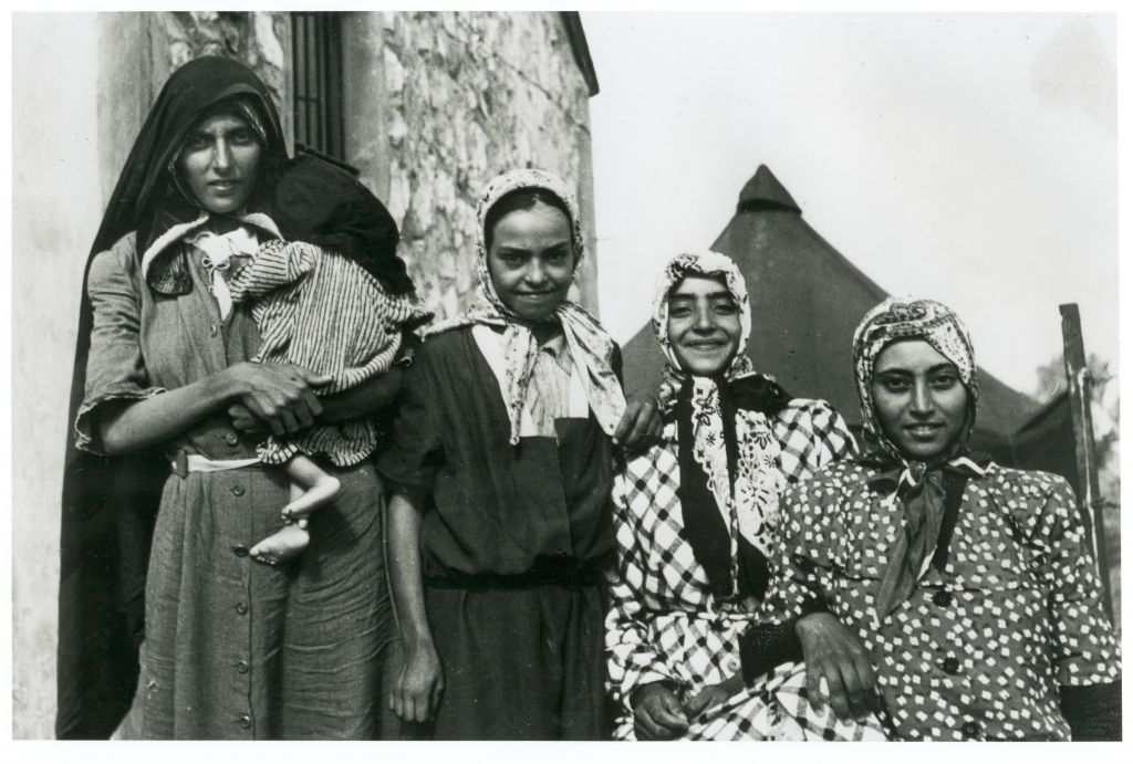Des Juifs yéménites qui ont quitté le Yémen durant l'opération Tapis volant (Autorisation)