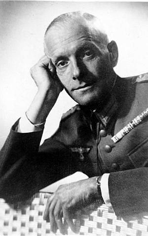 Hans Oster. (Crédit : Bundesarchiv, Bild)