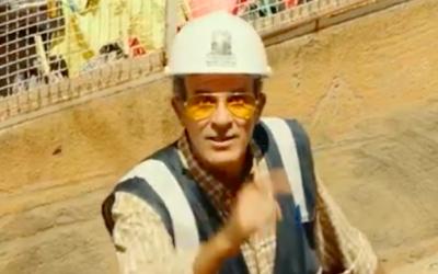 Kamel el-Basha (Crédit : Capture d'écran YouTube)