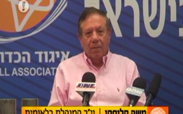 Moshe Kaliski (Crédit : Capture d'écran Walla)