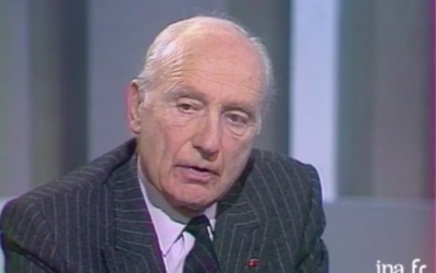 Maurice Papon (Crédit : Capture d'écran INA)
