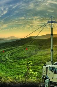 Elta, au sein de l'IAI, a développé un nouveau produit, l'ELK-7065 3D HF COMINT, qui permet d'intercepter rapidement et d'identifier des signaux radio haute-fréquence (Autorisation)