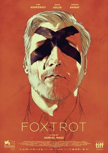 Affiche de 'Foxtrot', de Samuel Maoz. (Crédit : autorisation)