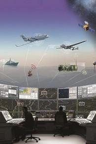 Illustration d'un centre de renseignements de signaux automatisés d'Elta, filiale de l'IAI (Autorisation)