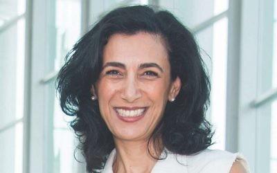 Sharon Nazarian sera vice-présidente des affaires internationales pour la Ligue Anti-Diffamation. (Crédit : ADL)