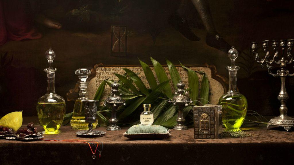 Illustration : Un parfum d'etrog de la ligne Arquiste de  Carlos Huber's Arquiste line, L'Etrog Acqua. (Autorisation)