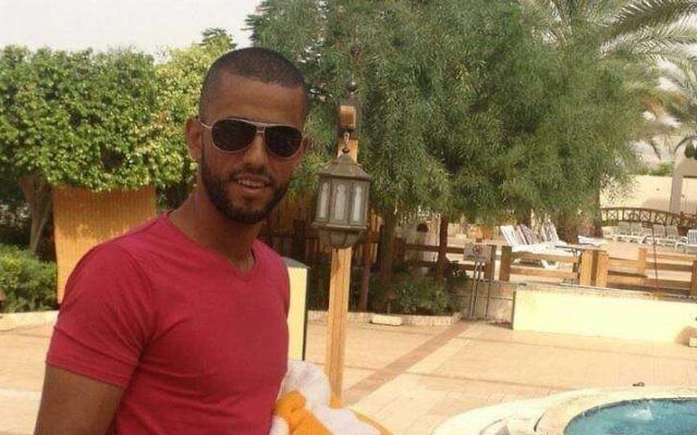 Nimer Mahmoud Ahmed Jamal, qui a tué trois Israéliens et en a blessé un grièvement devant l'implantation de Har Adar, le 26 septembre 2017. (Crédit : Facebook)