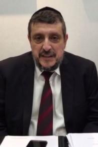 Le rabbin Shlomo Tawil. (Crédit : capture d'écran Vimeo)