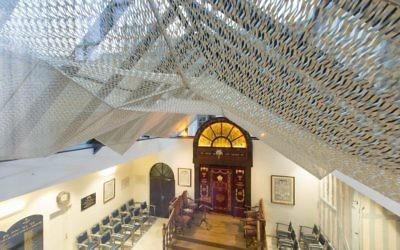 La synagogue de Troyes. Illustration. (Crédit : Didier Guy)