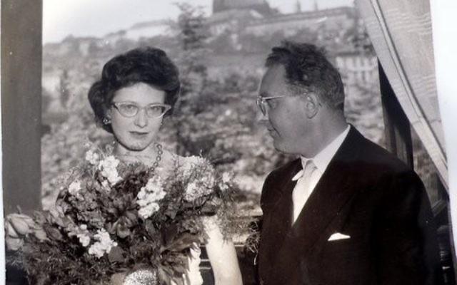 Zuzana Růžičková et son époux Viktor Kalabis après un concert. (Crédit : Iria-castro/CC BY-SA 4.0/WikiCommons)