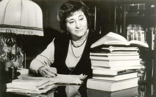 Elena Rzhevskaya, la femme qui a aidé à identifier le corps d'Hitler. (Crédit : Liobuv Summ)