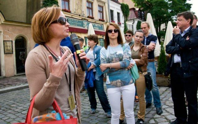 Le 27ème festival de culture juive à Cracovie, en Pologne, qui a eu lieu en juillet 2017, est le signe d'un regain d'intérêt pour la vie juive, 70 ans après l'Holocauste (Autorisation du festival de culture juive de Varsovie/via JTA)
