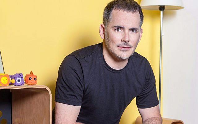 Le cofondateur et le PDG de Fiverr, Micha Kaufman (Crédit : Yuval Taog)