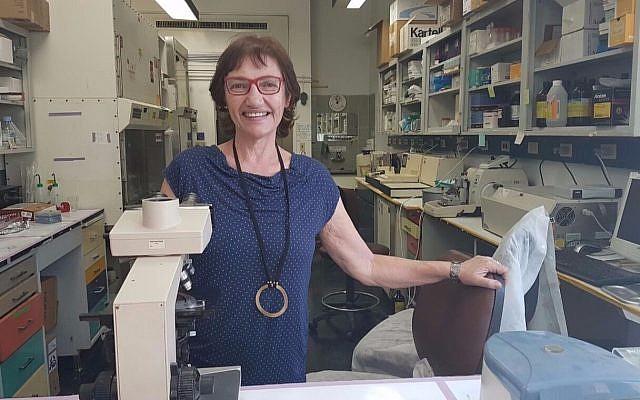 La professeure Ruth Gabizon, chercheuse en maladies dégénératives du cerveau au département de neurologie de l'hôpital universitaire de Hadassah à Jérusalem (Autorisation)
