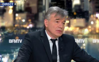 Alain Houpert, sénateur LR, promeut la qualité de l'anti-terrorisme  israélien (Crédit: capture d'écran BFMTV)