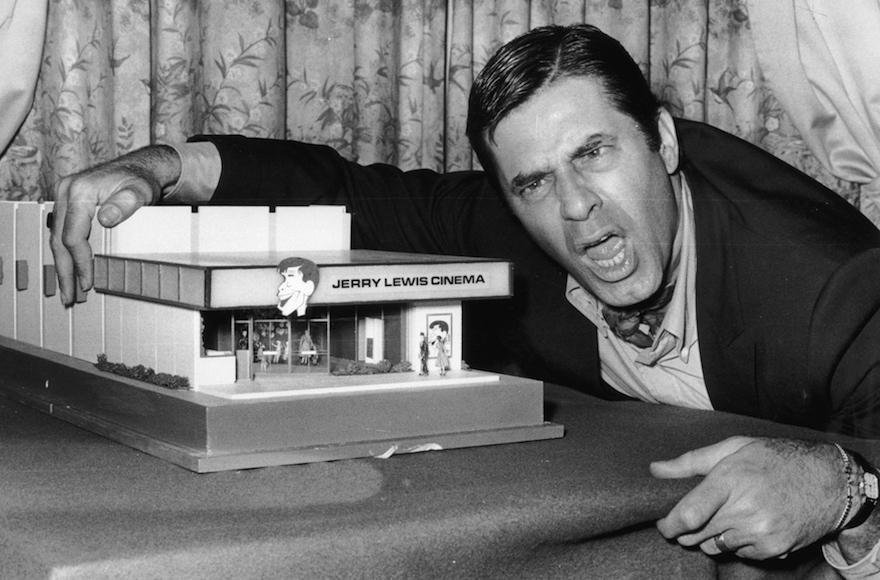 Jerry Lewis en 1971 (Crédit : Evening Standard/Getty Images)