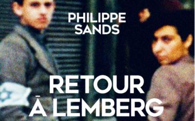 La couverture de 'Retour à Lemberg', de Philippe Sands. (Crédit : capture d'écran Albin Michel)