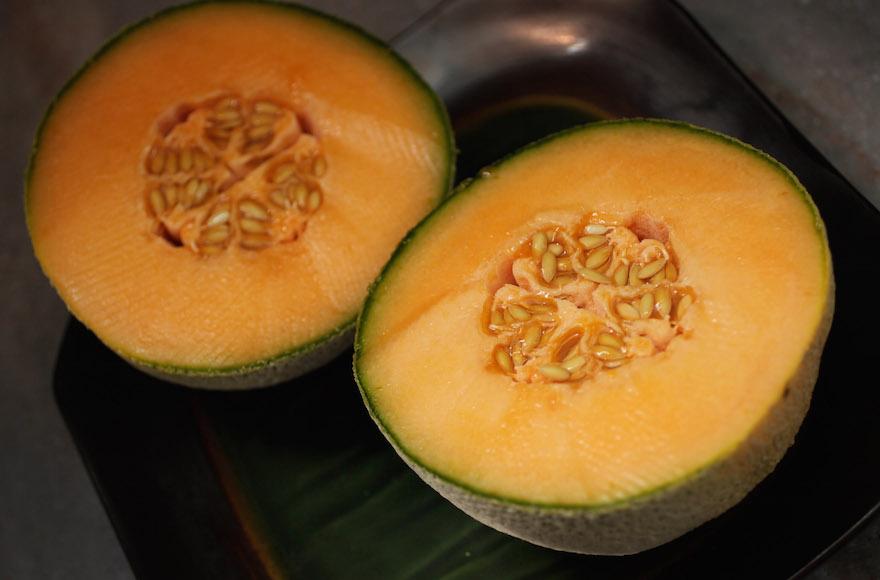 Les graines de melon Cantaloup peuvent être utilisée dans la pepitada. (Crédit : Joe Raedle/Getty Images/via JTA)