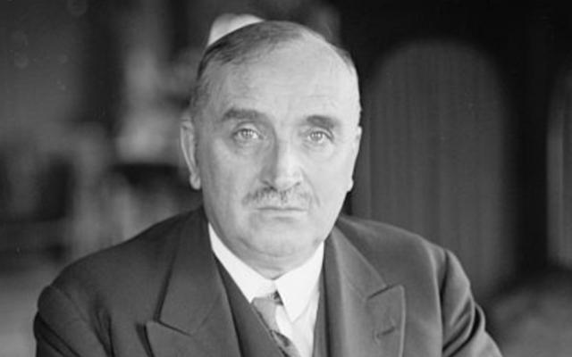 Paul Claudel, le 14 mars 1927 (DR)