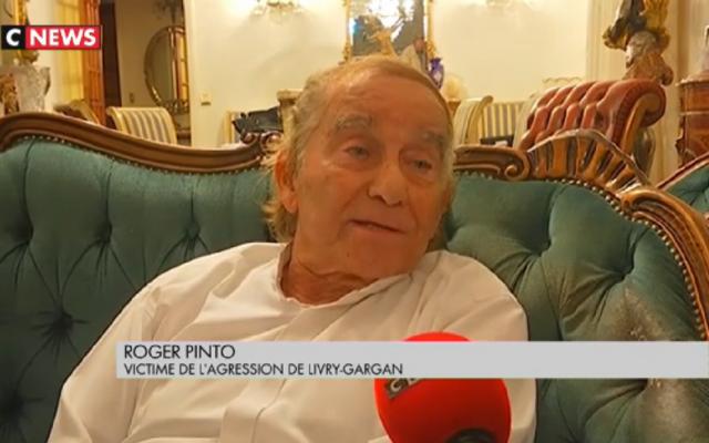 Roger Pinto, président de l'association Siona a été agressé ainsi que sa femme et son fils à leur domicile dans la nuit du 7 au 8 septembre (Crédit: capture d'écran CNews)