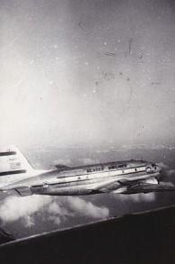 Un avion d'Alaska Airlines pendant l'opération Tapis volant. (Autorisation)