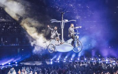 Trois des membres du groupe pop britannique Take That seront en Israël en novembre 2017. (Crédit : autorisation de Take That)