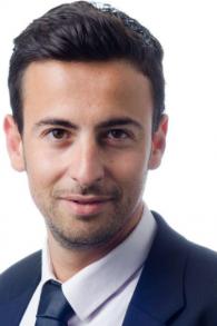 """Tzvika Graiver, juriste et avocat pour les nouveaux immigrants pour le mouvement """"Keep Olim in Israel"""" (Crédit :  Facebook)"""