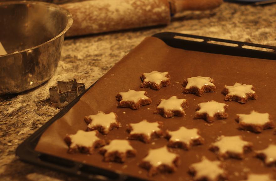 Gâteaux Zimtsterne  (Crédit : Flickr Commons/via JTA)