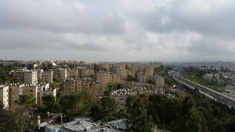 Une vue de la Colline française, un quartier de Jérusalem qui attire des résidents d'horizons complètement différents  (Autorisation :  Lagur)