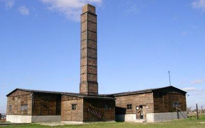 Crématorium du camp de Majdanek (Crédit : CC BY-SA 3.0)