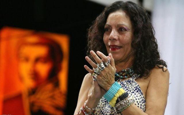 Rosario Murillo en 2016. (Crédit : Tavox13/CC BY-SA 4.0/WikiCommons)