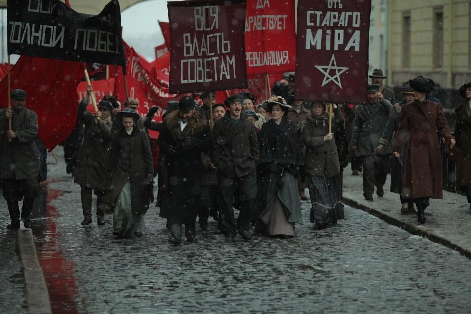 Un instantané de la prochaine série télévisée russe 'Trotsky'. (Autorisation)