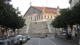 Vue sur la gare de Marseille Saint-Charles. Illustration. (Crédit : Michiel1972/Wikimedia commons)