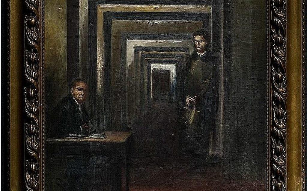 » Un tableau d'Hitler dans un musée italien endommagé par un homme muni d'un tournevis