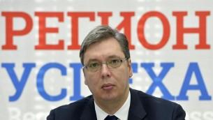 Aleksandar Vucic (Crédit : Zoran Žestić/ CC BY SA 4.0)