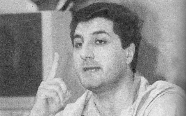 Bashir Gemayel (Crédit : CC-BY SA Georges Hayek/Wikimedia Commons)