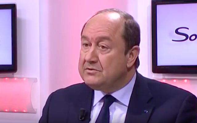 Bernard Squarcini (Crédit : Capture d'écran YouTube)
