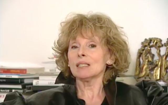 Clara Halter (Crédit : Capture d'écran YouTube)