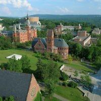 'université Cornell, dans l'état de New York. (Crédit: CC BY SA 2.0/Wikimedia Commons)