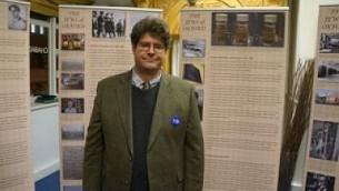 Marcus Roberts, directeur de l'Anglo-Jewish Heritage Trail. (Autorisation)