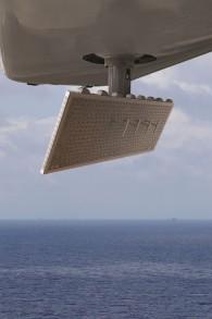 Le radar de patrouille maritime ELM-022 développé par Elta Systems Ltd., une filiale des Industries aérospatiales israéliennes (IAI)