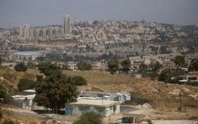 Le quartier de Givat Hamatos, à Jérusalem, en juillet 2016.(Crédit: Lior Mizrahi/Flash90)