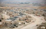 Construction de nouveaux logements dans l'implantation israélienne de Kfar Adumim, le 25 septembre 2017. (Crédit : Miriam Alster/Flash90)