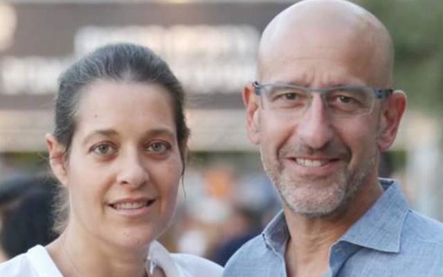 Tout en luttant contre le cancer du pancréas et du rein, Tamir Gilat a perdu sa femme, décédée en juin d'un cancer du sein. (Autorisation de Gilat)