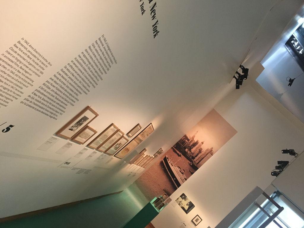 L'exposition sur René Goscinny au Musée d'art et d'histoire du judaïsme. (Crédit : Sandrine Szwarc)